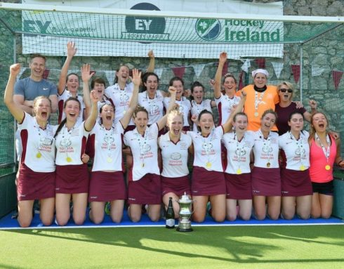 Loreto 1sts winning the EYHL All Ireland final