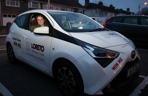 Loreto Monster Draw Toyota Sandford Aygo winner
