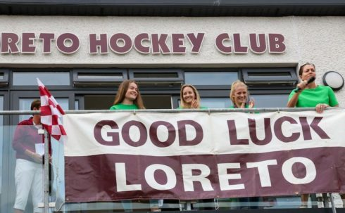 Loreto Hockey Club players world cup homecoming