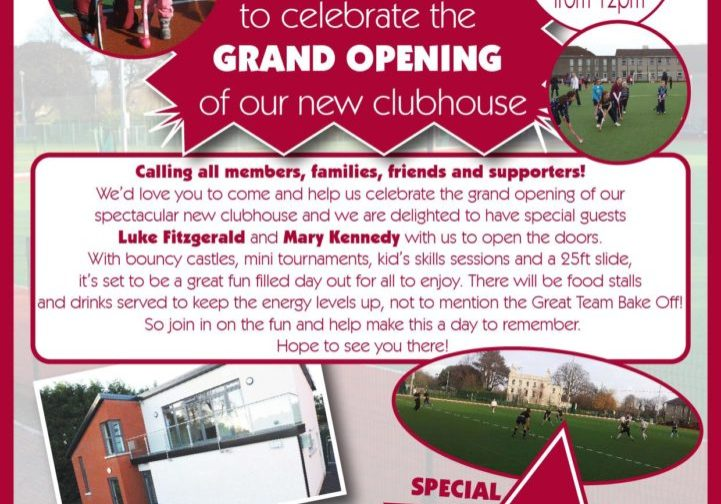 Clubhouse Opening poster March 2013