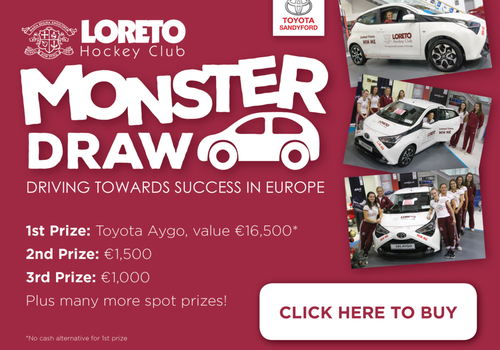 Monster Draw Loreto EYHL Europe